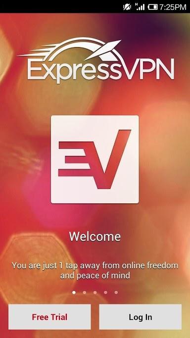 ExpressVPN Android 1