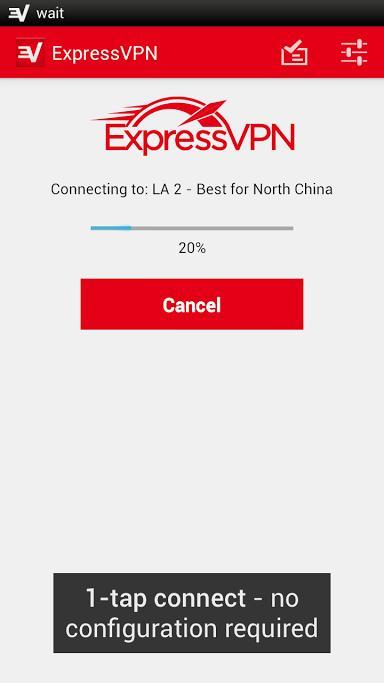 ExpressVPN Android 3