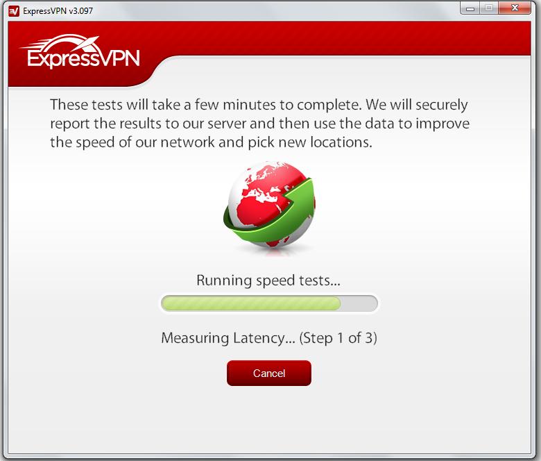 ExpressVPN Speed Tests